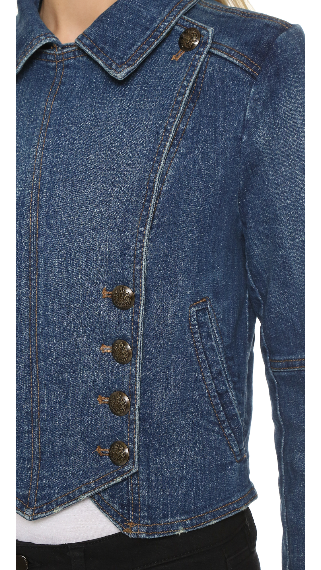 The Gap jackets in denim can live up to all these challenges. Denim Jacket Features Durable, stylish and practical, these jackets are made from the best blends of fabrics and come in all your favorite colors.