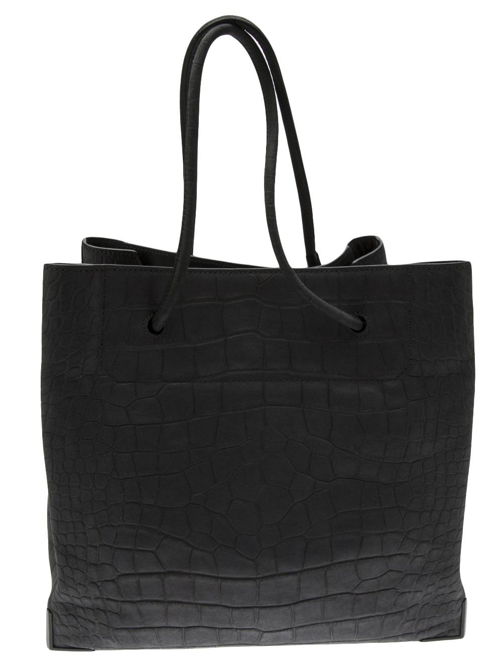 Alexander Wang Prisma Skeletal Tote Bag in Black (Grey)
