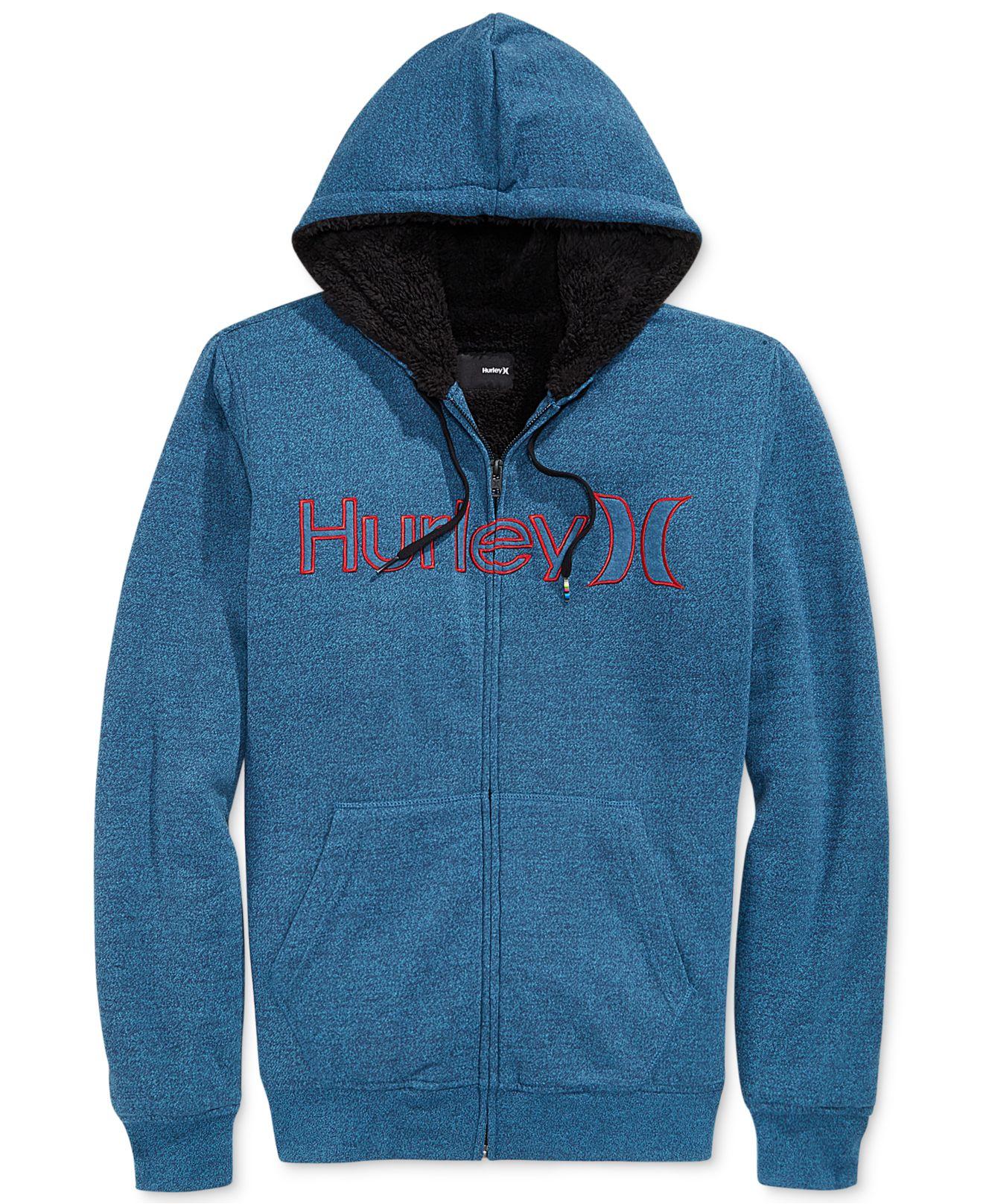 Hurley sherpa hoodie