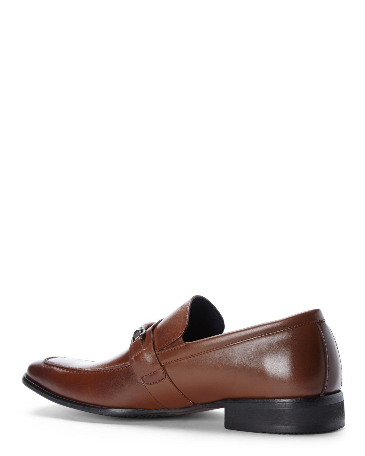 e65e7c34f38 Steve Madden Brown Cognac Sherman Loafers for men