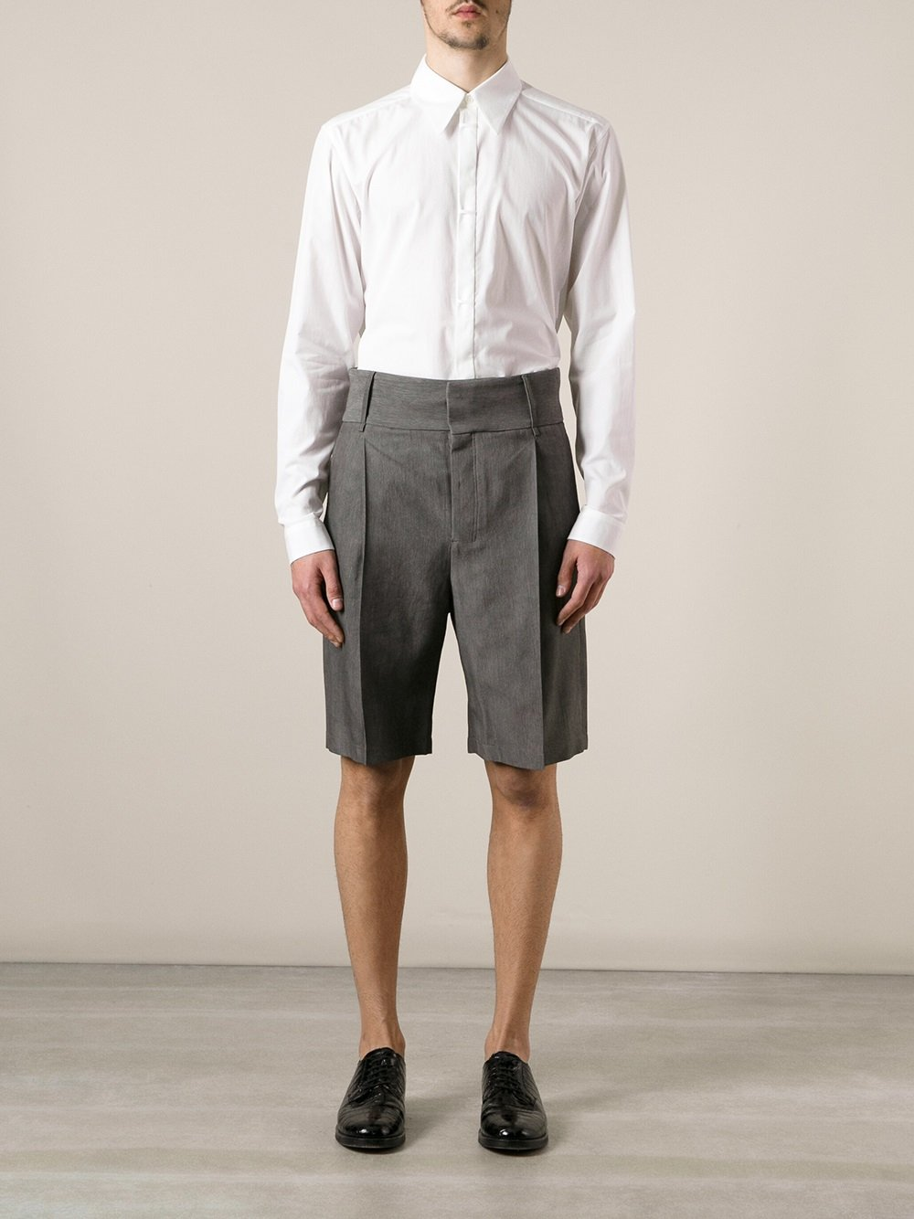Damir doma High Waisted Shorts in Gray for Men | Lyst