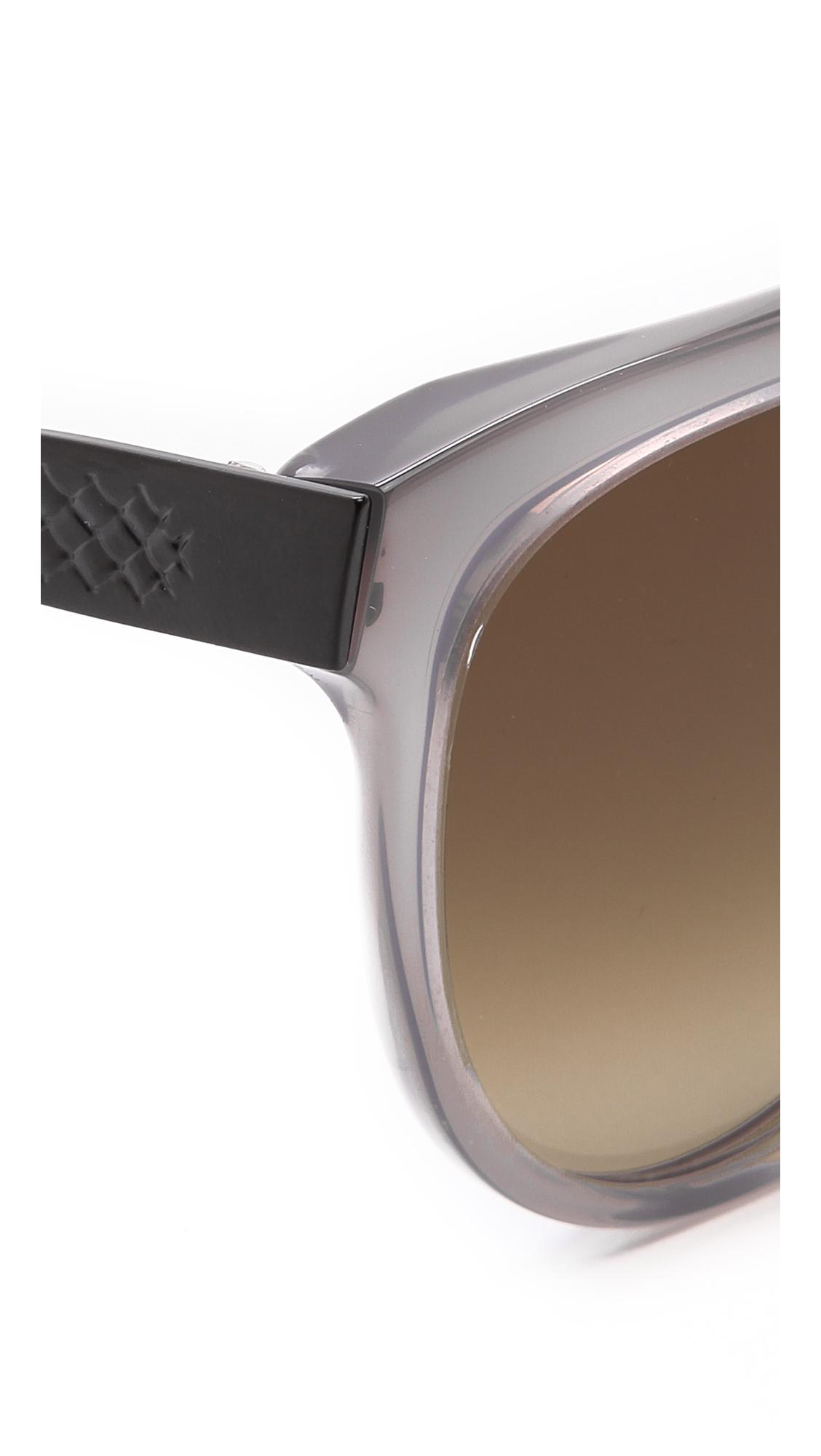 Bottega Veneta Cat Eye Sunglasses Light Brown Brown