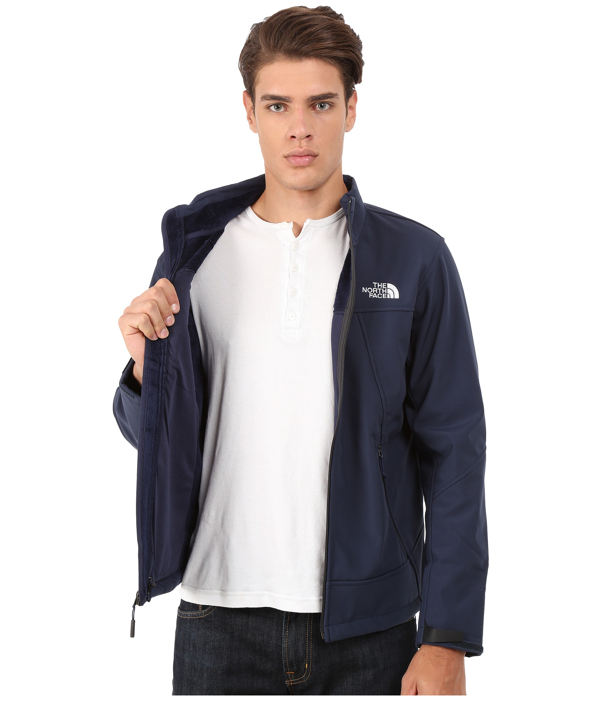 d13f36a93 The North Face Blue Apex Chromium Thermal Jacket for men