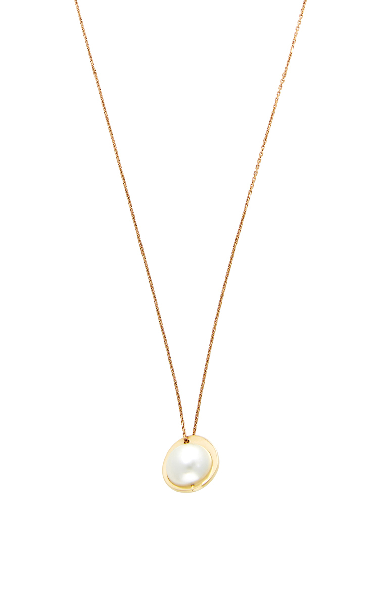 NATAF Joaillerie Planetary Pendant in Gold (White)