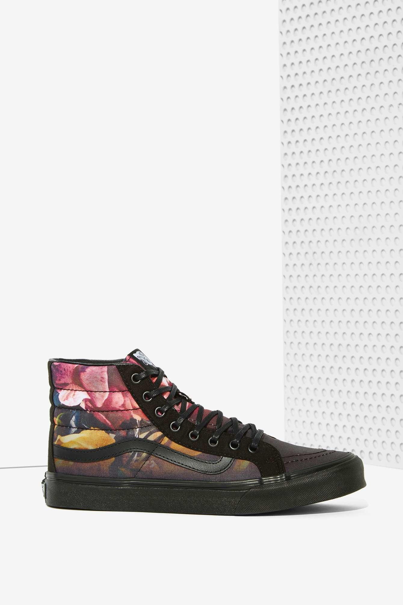 e6a341c1c557c8 Lyst - Vans Sk8-hi Slim Sneaker - Ombre Floral