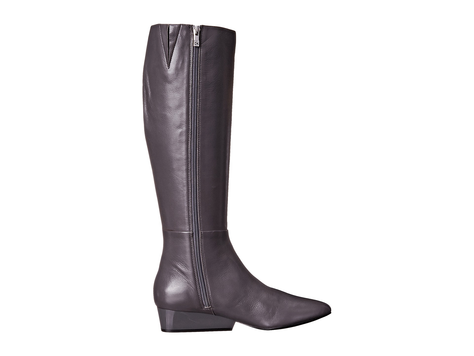 Womens Boots Calvin Klein Collena Black Leather