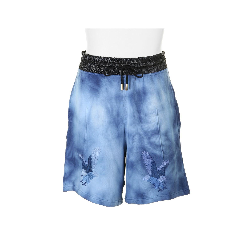 Off White C O Virgil Abloh Shorts In Blue For Men Lyst