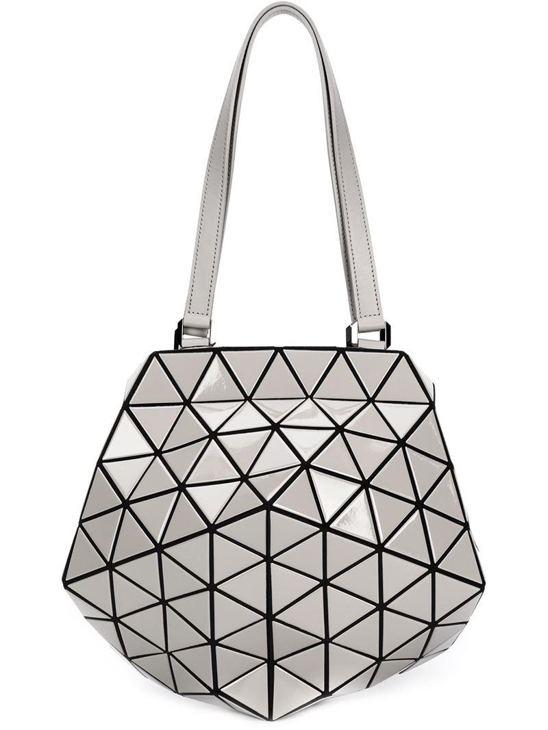 25d993ae2ccb Lyst - Bao Bao Issey Miyake Prism Planet Shoulder Bag in Metallic