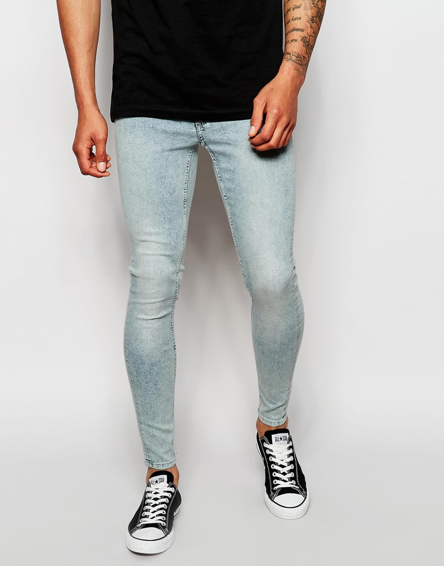 Cheap monday Jeans Low Spray Extreme Super Skinny Fit Super Light ...