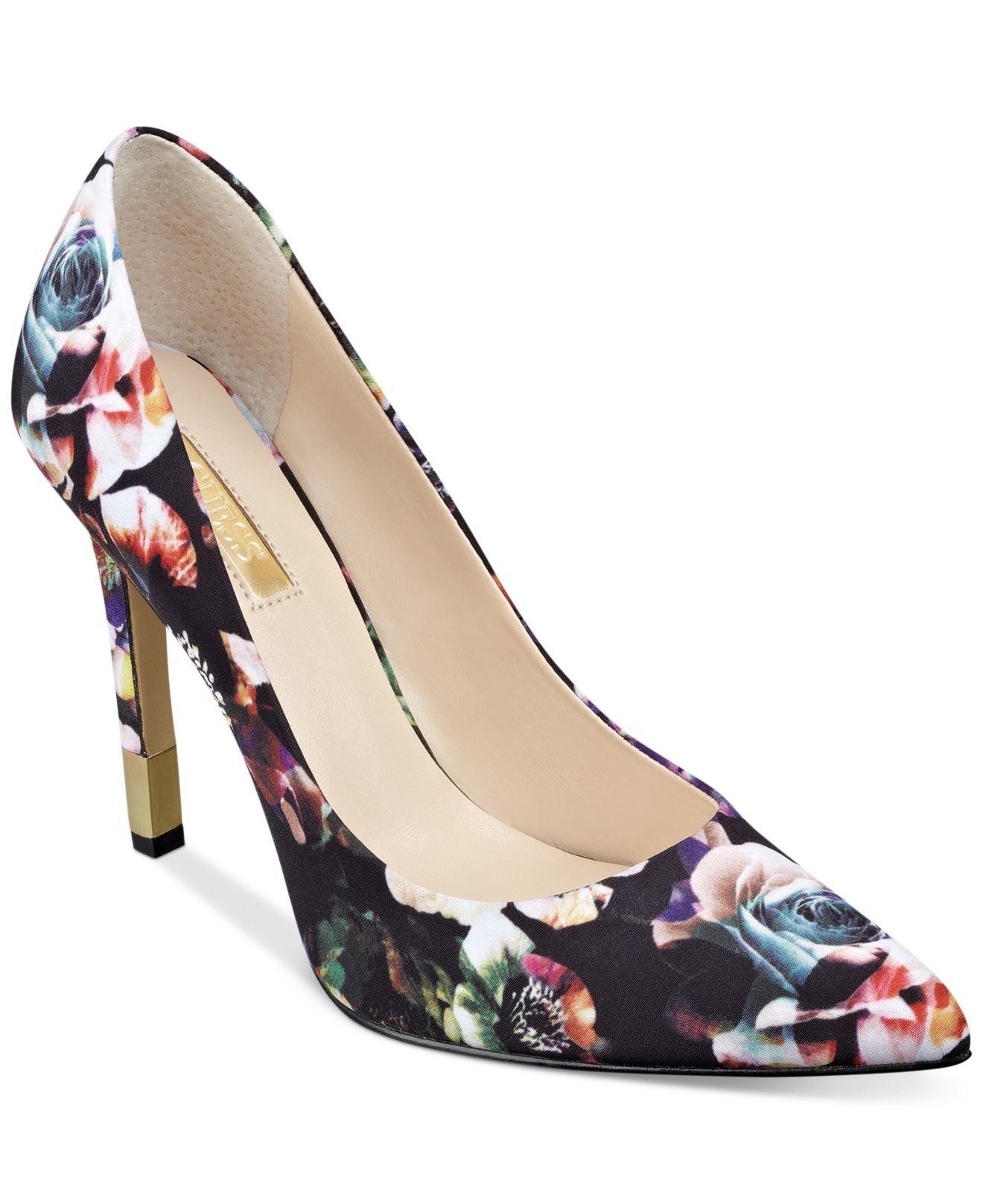 Babbitta Pointed Toe Pumps Guess Pointed Toe Pumps Shoes