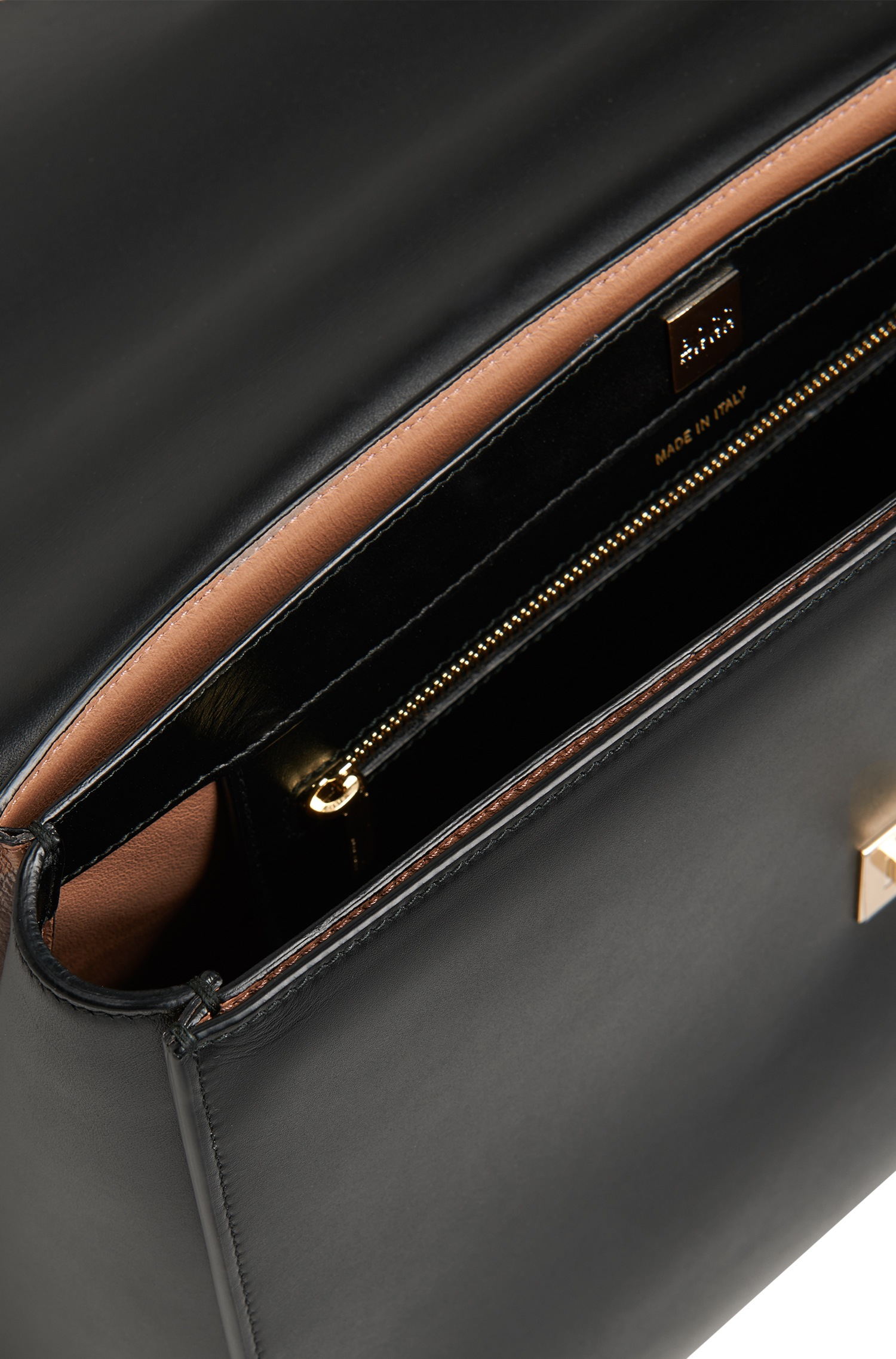 Boss 39 bespoke 39 leather handbag detachable strap in for What is bespoke leather
