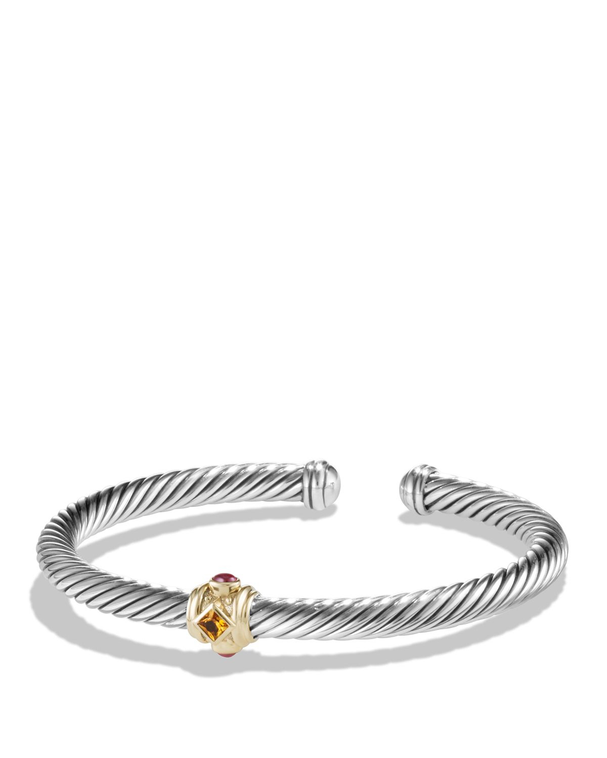 Lyst david yurman renaissance bracelet with citrine for David yurman like bracelets