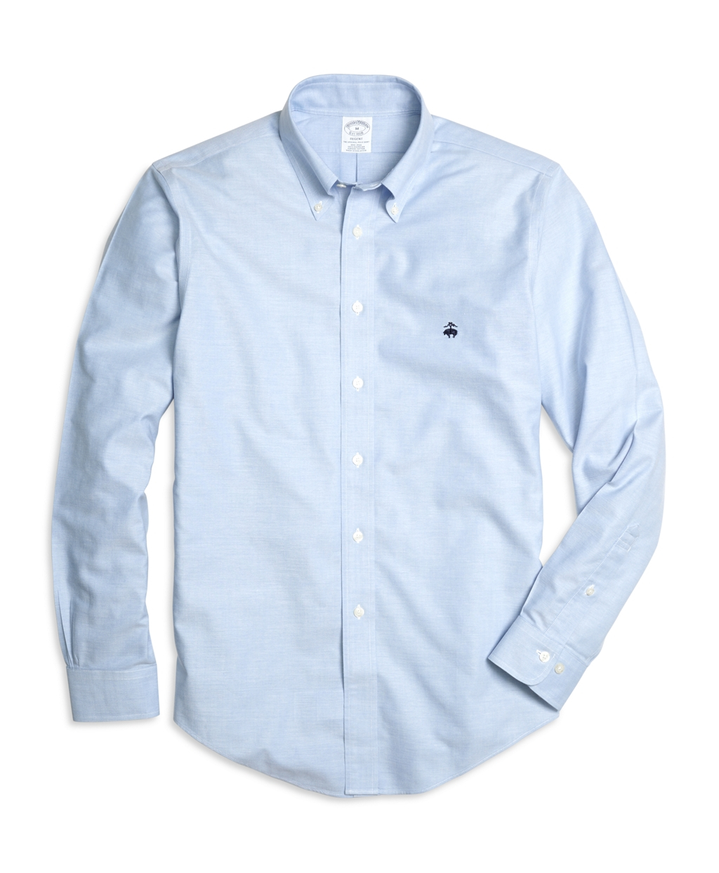 Brooks brothers non iron regent fit oxford sport shirt in Brooks brothers shirt size guide
