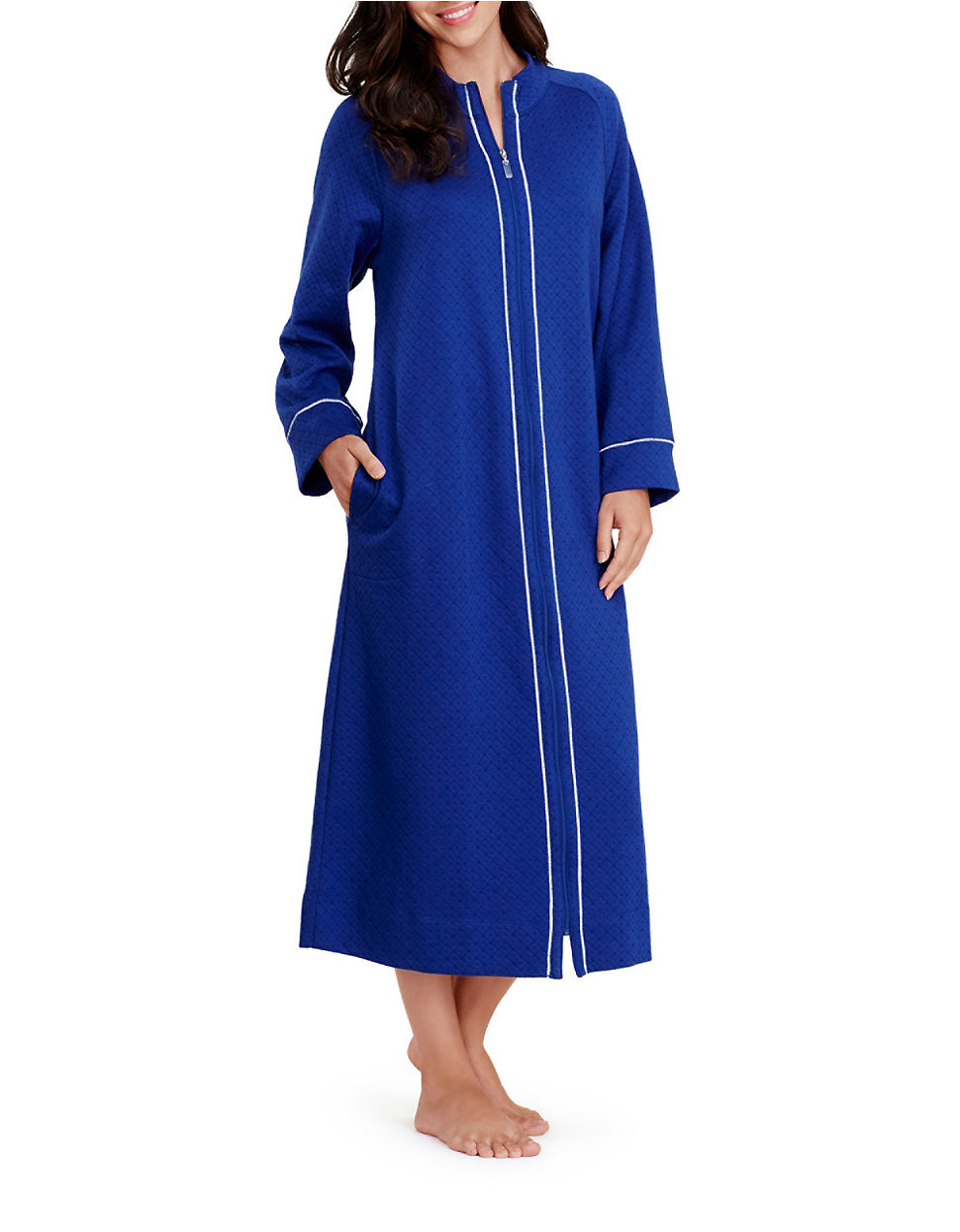 Free shipping BOTH ways on womens petite fleece robes zip front, from our vast selection of styles. Fast delivery, and 24/7/ real-person service with a smile. Click or call
