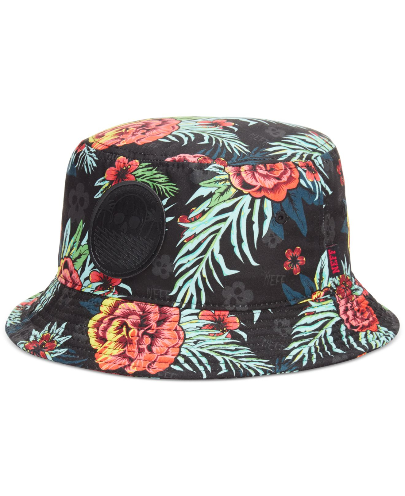 29bcc4d3a71 Lyst - Neff Astro Bucket Hat in Black for Men