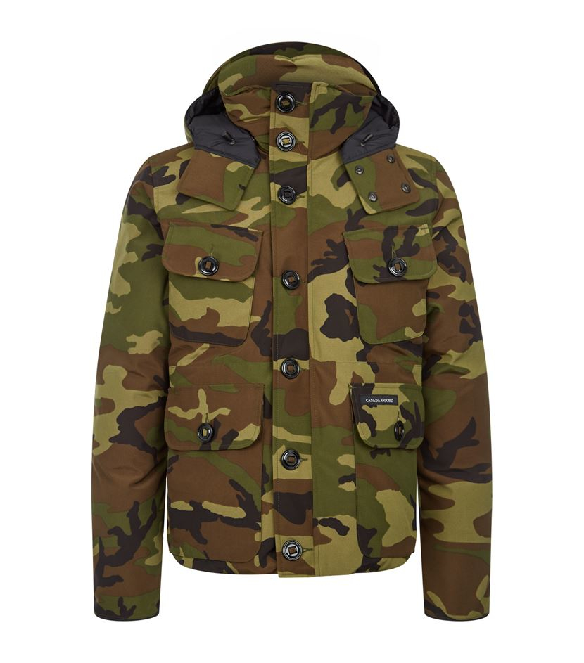 9d568126ed2 ... Canada Goose jackets sale authentic - Canada goose Camo Selkirk Parka in  Green for Men ...