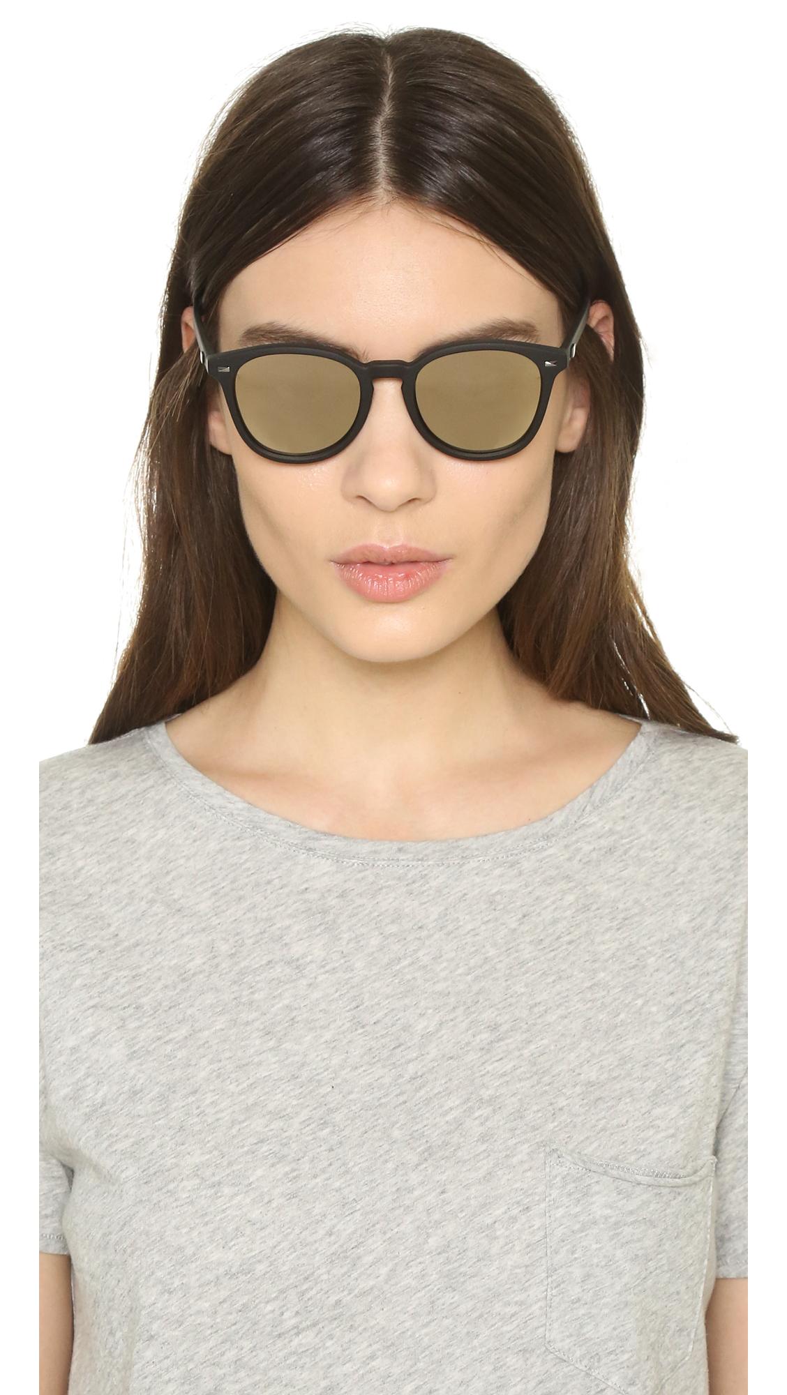 4313cf6b5a Le Specs Bandwagon Sunglasses in Black - Lyst