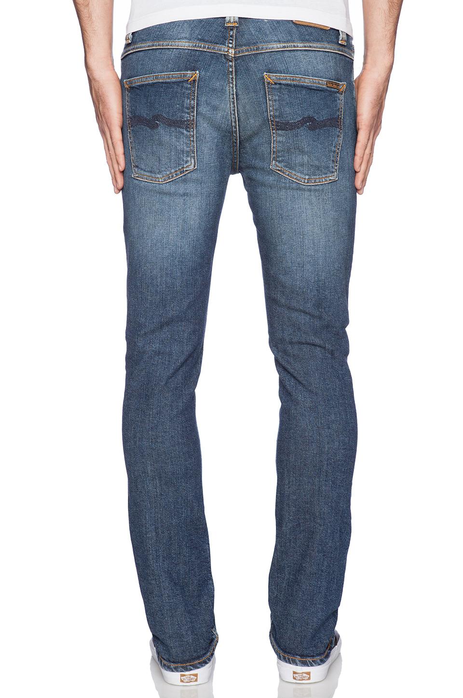 lyst nudie jeans grim tim in blue for men. Black Bedroom Furniture Sets. Home Design Ideas