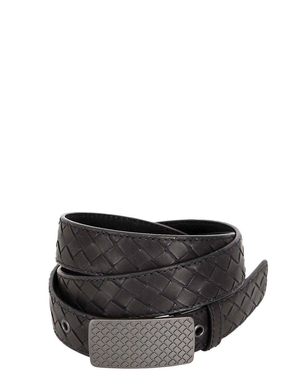 Leather belt Bottega Veneta 2sew1cEwh
