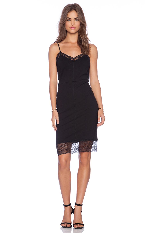 Sanctuary Slip Dress in Black