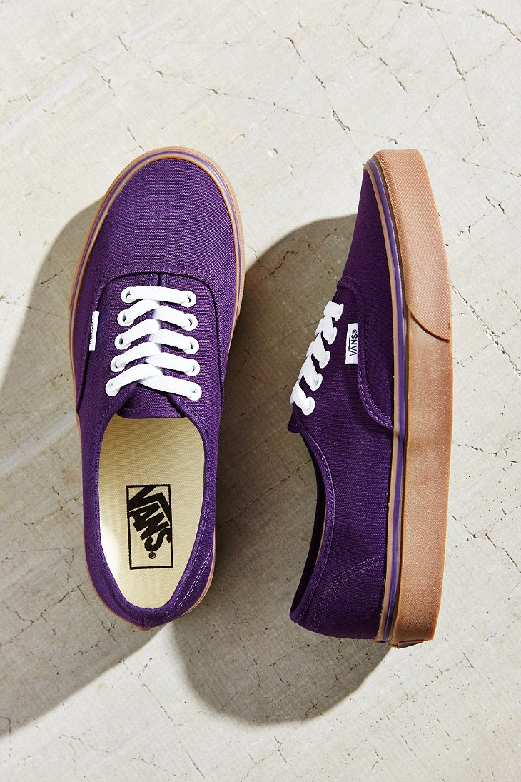 Vans Purple Sole