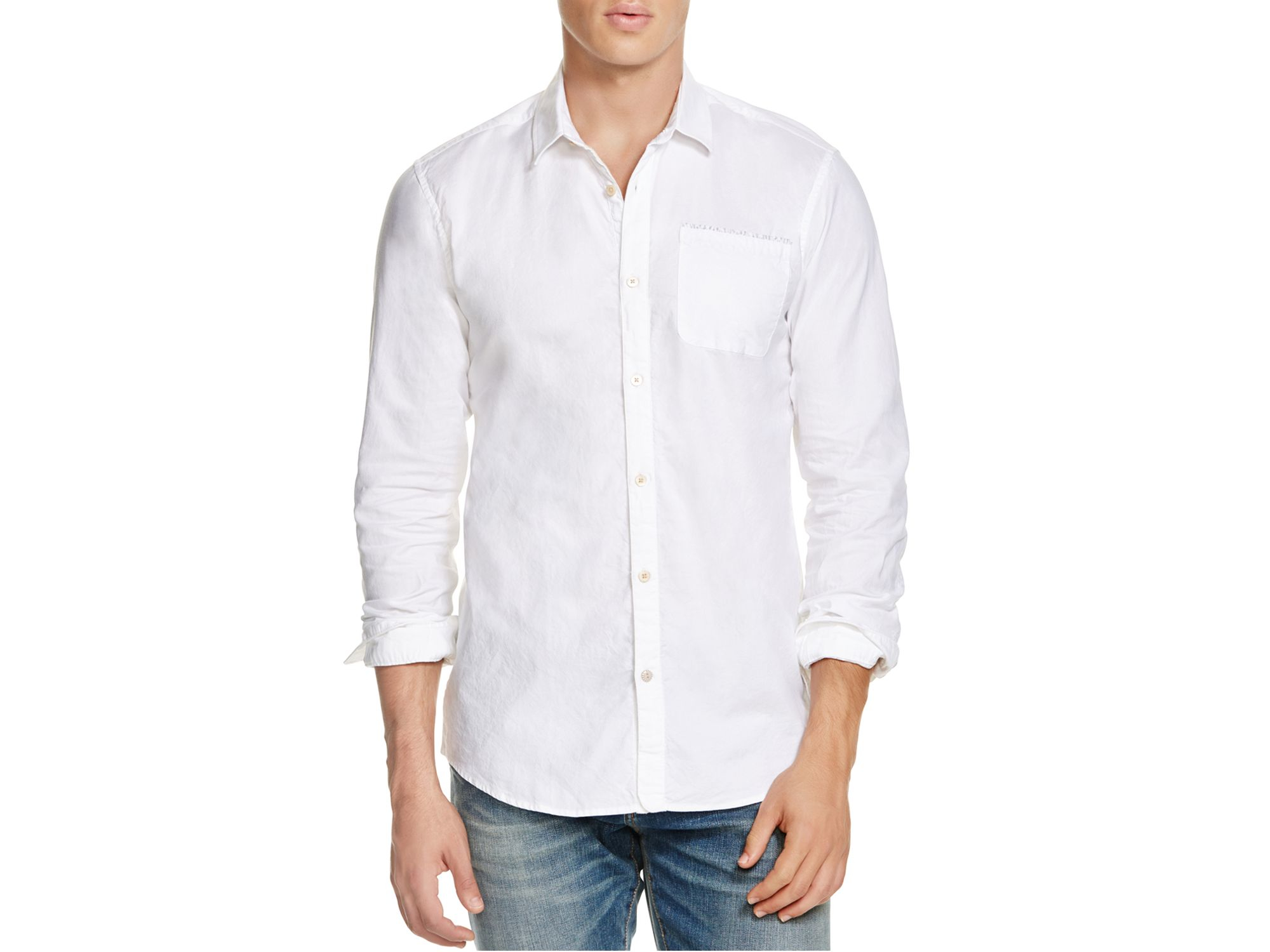 White button downoxford shirts women petal for Athletic fit button down shirts