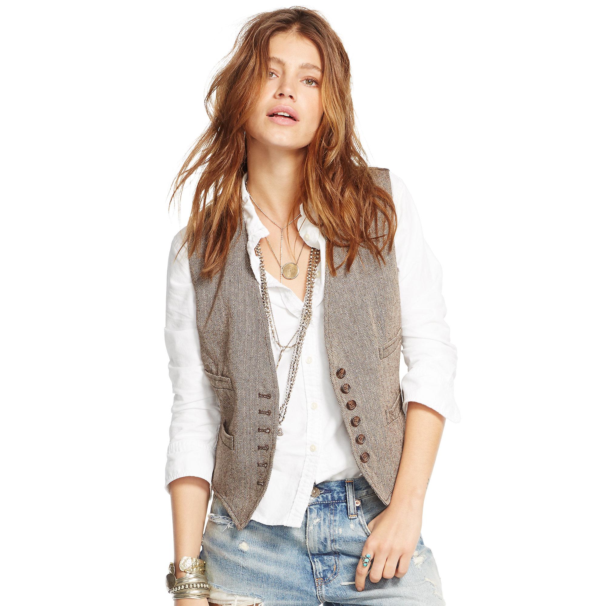 Lyst - Denim  Supply Ralph Lauren Herringbone Linen-Wool -6760