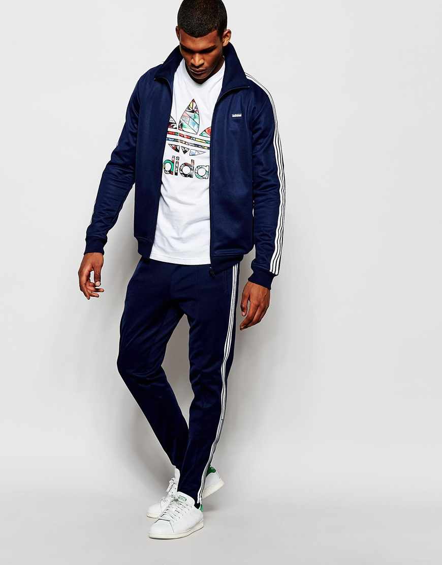 Adidas Tracksuit Navy