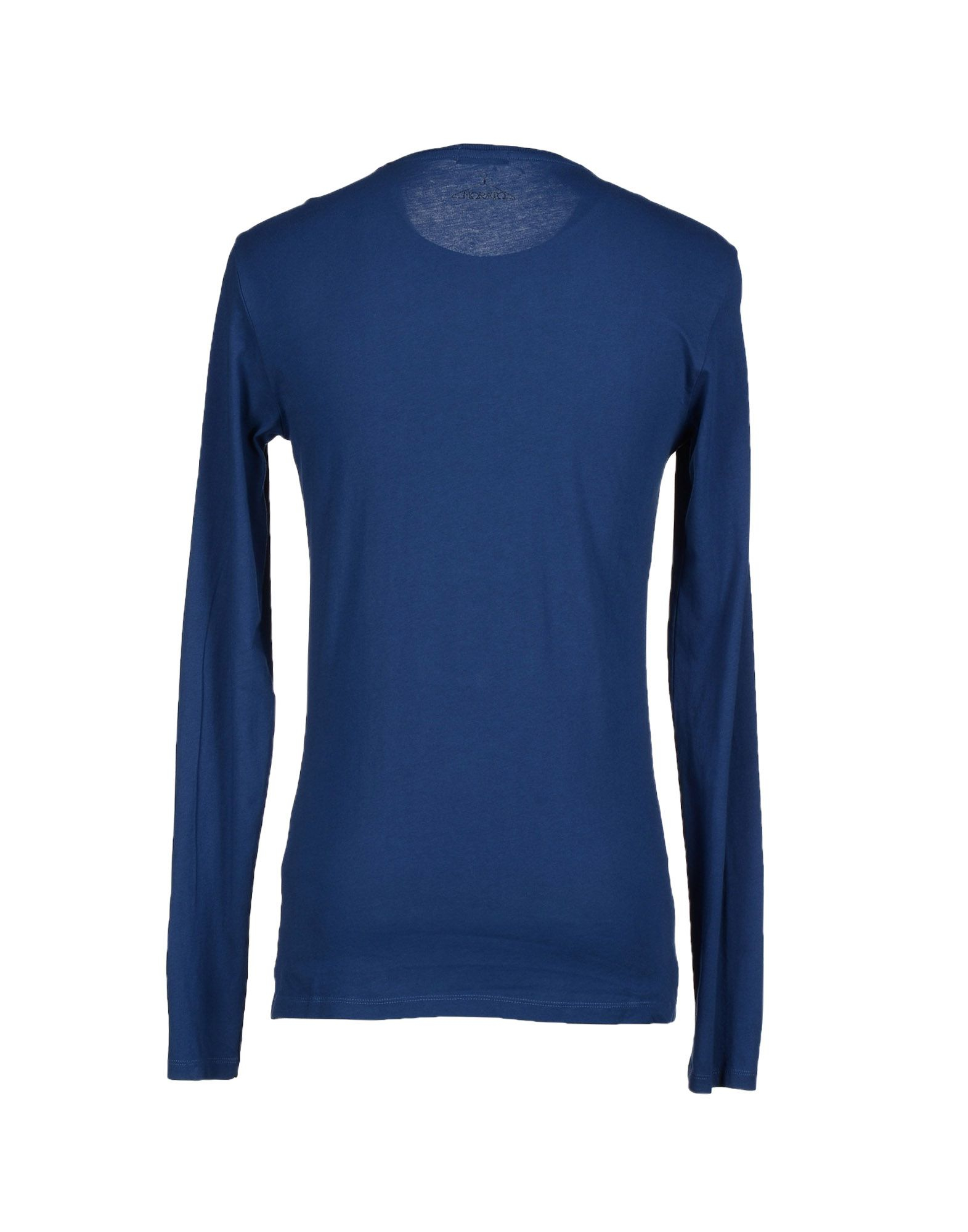 Antony morato t shirt in blue for men dark blue lyst for T shirt dark blue