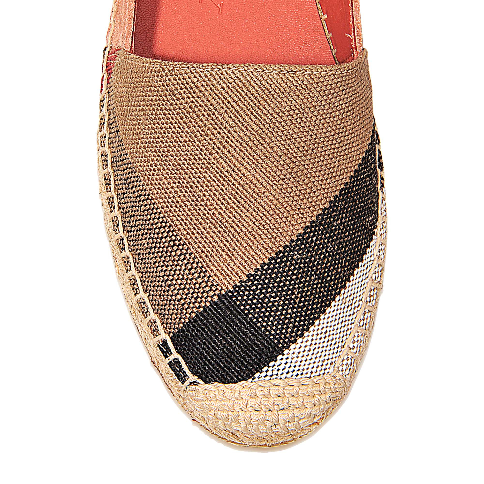 86074f8619bfa Burberry Hodgeson Espadrilles in Pink (Khaki)