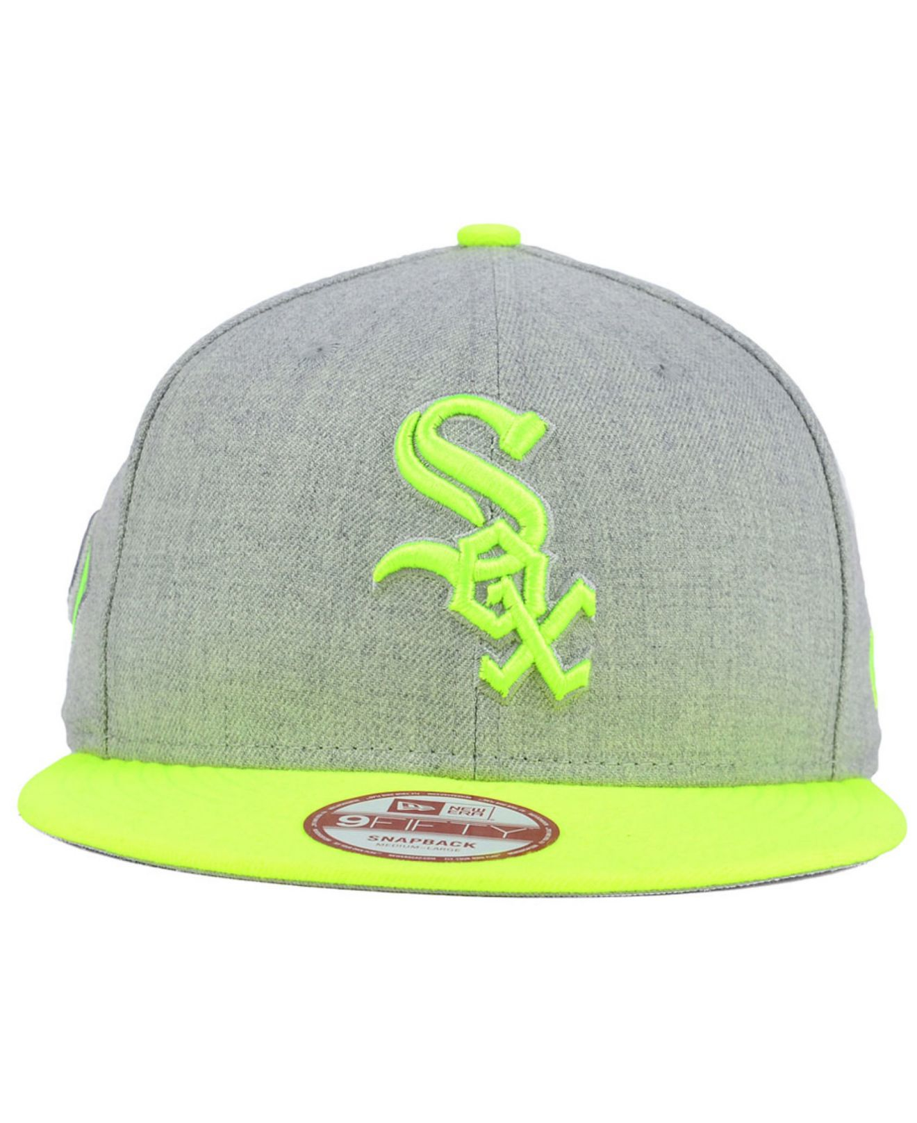 huge discount 7795b d0d3d KTZ Chicago White Sox Speed Up 9fifty Snapback Cap in Gray for Men ...
