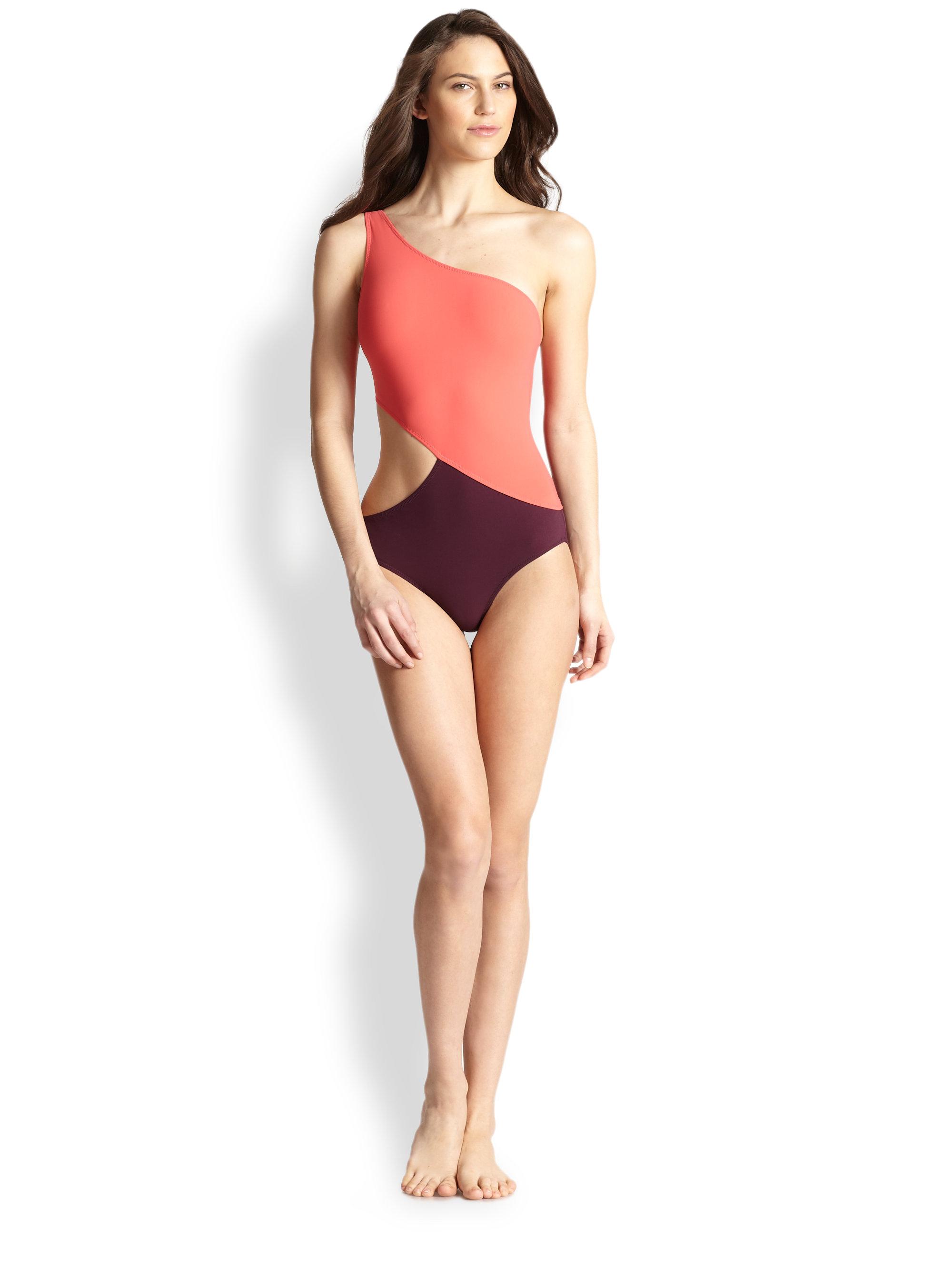22d5ae2e416 Araks Purple Onepiece Elmar Swimsuit