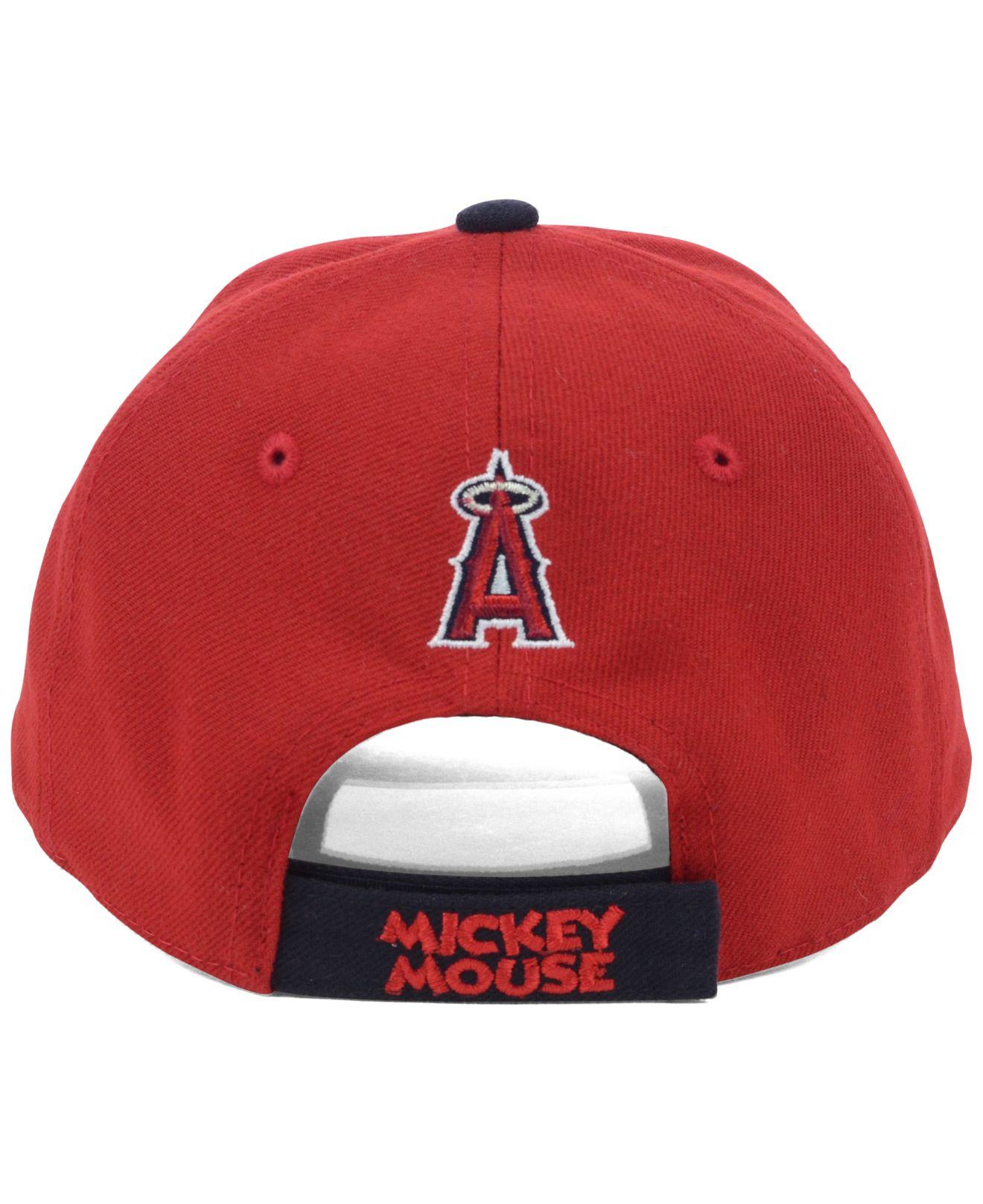 best sneakers 96a97 b5468 KTZ Kids Los Angeles Angels Of Anaheim Disney Dub Adjustable Cap in ...