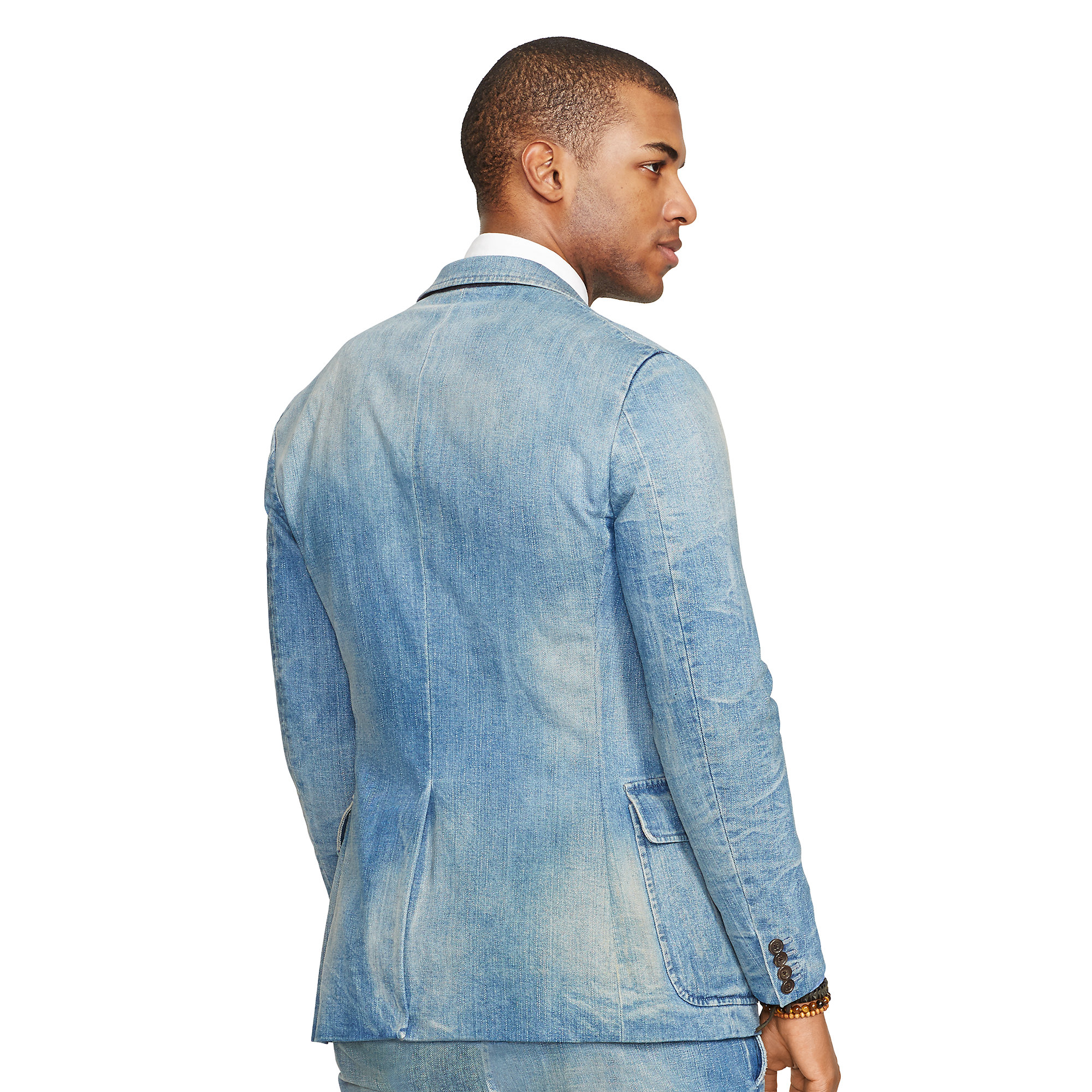 Lyst Polo Ralph Lauren Morgan Denim Suit In Blue For Men