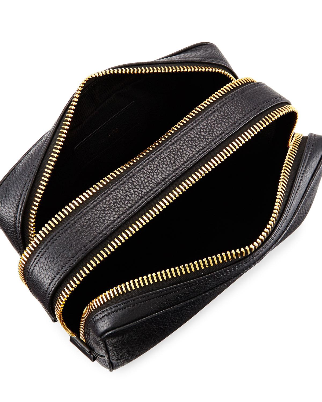 008c65f5eaf1 Lyst - Tom Ford Double-zip Toiletry Bag in Black for Men