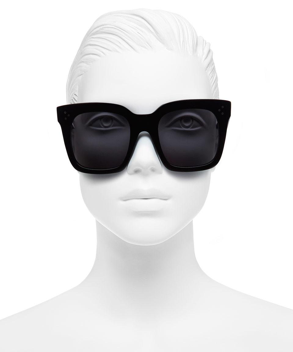 celine black shades