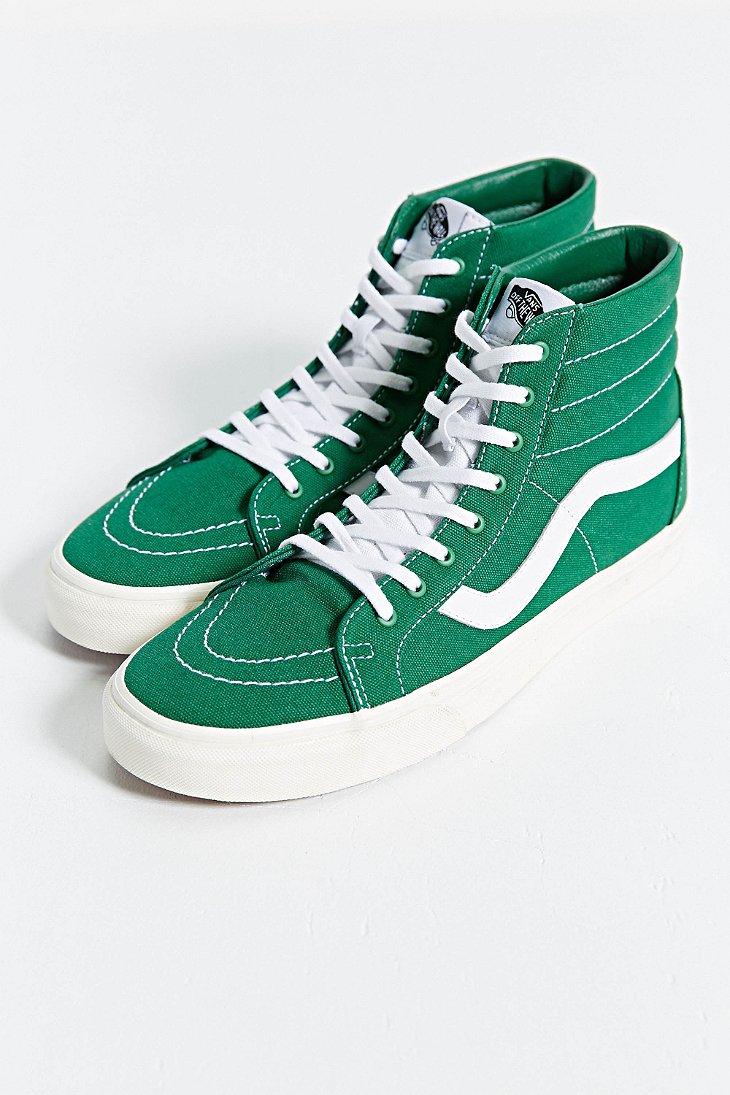 6c734f20e729 Lyst - Vans Sk8-hi Reissue Canvas Sneaker in Green for Men