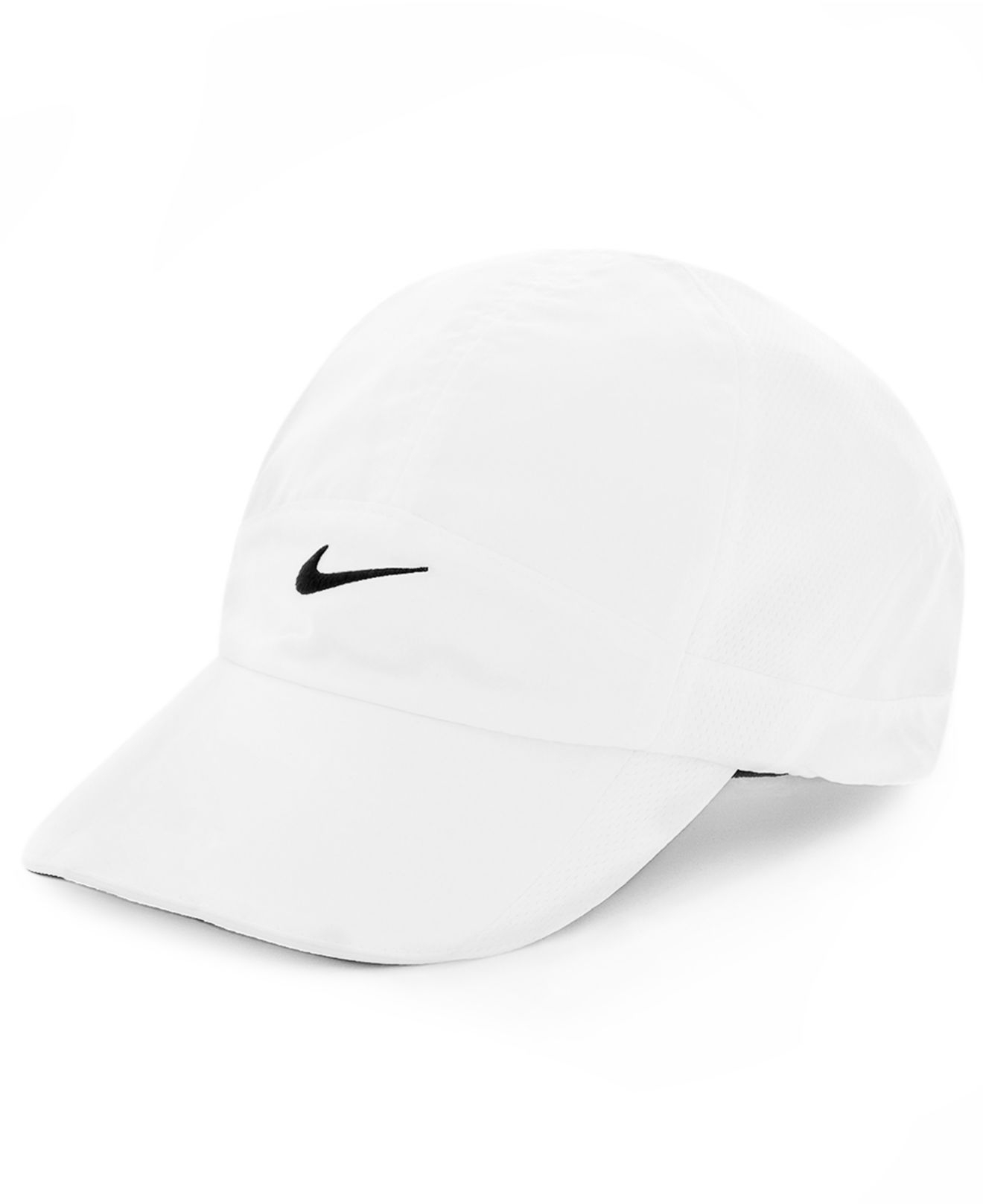 Lyst - Nike Featherlight 2.0 Dri-Fit Sports Cap in White 03afa784773