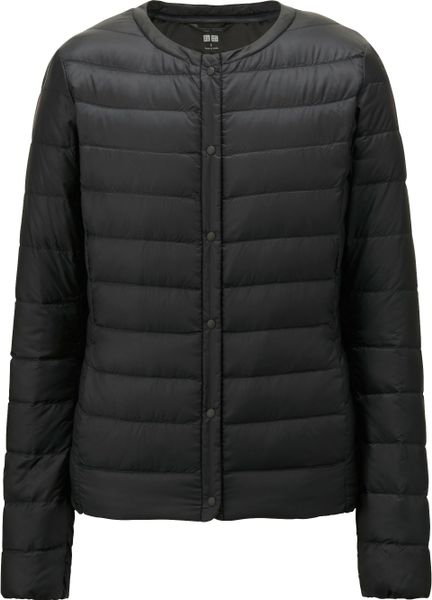 uniqlo women ultra light down compact jacket in black lyst. Black Bedroom Furniture Sets. Home Design Ideas
