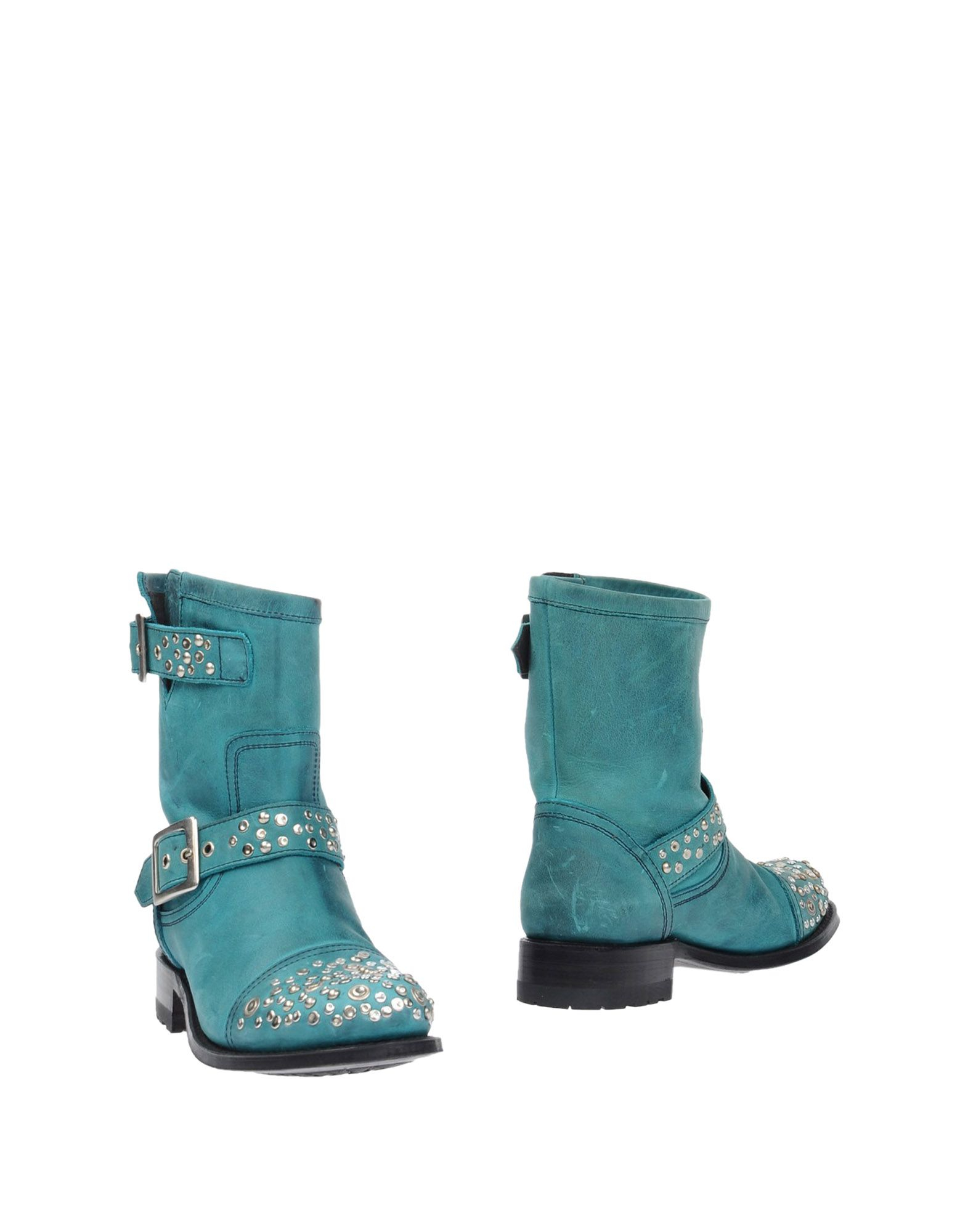 sendra ankle boots in blue turquoise lyst