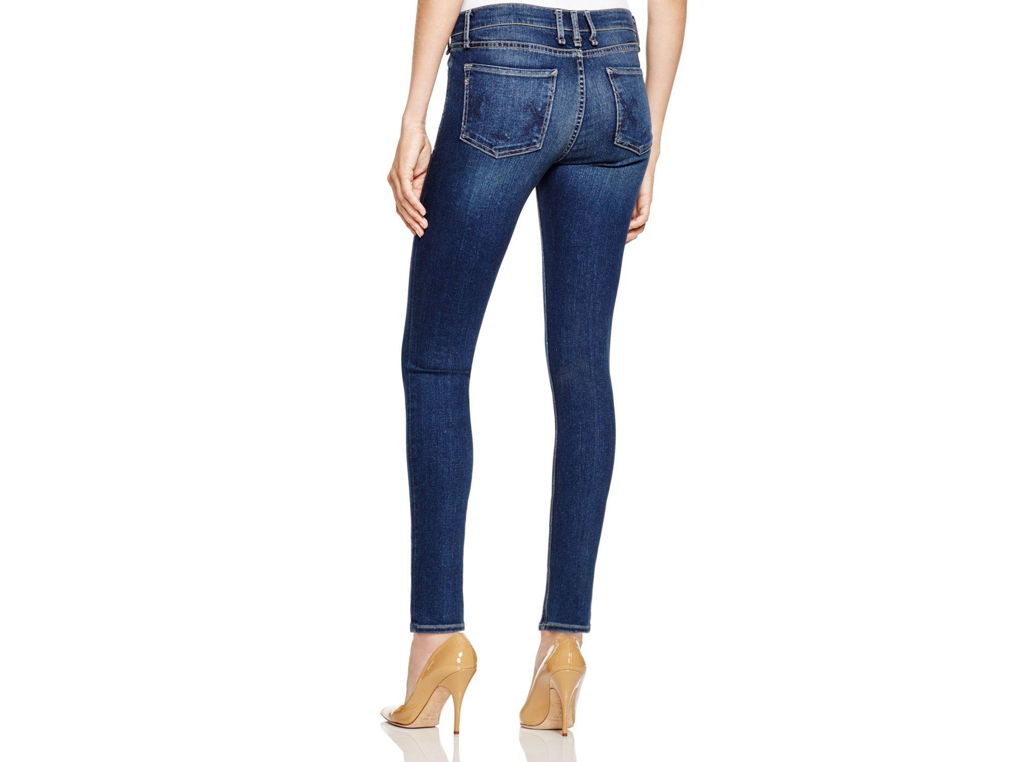 Mcguire Newton Skinny Ankle Jeans In Bijoux in Blue