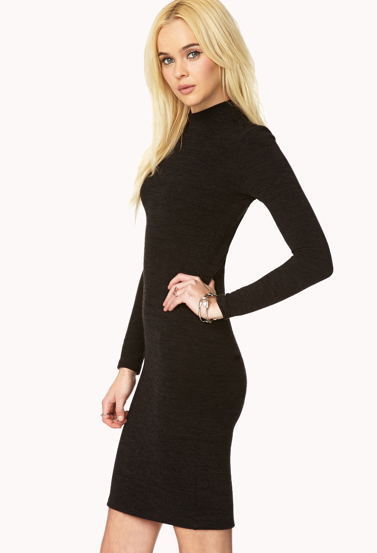 Lyst forever 21 must have sweater dress in black for Must have dress shirts