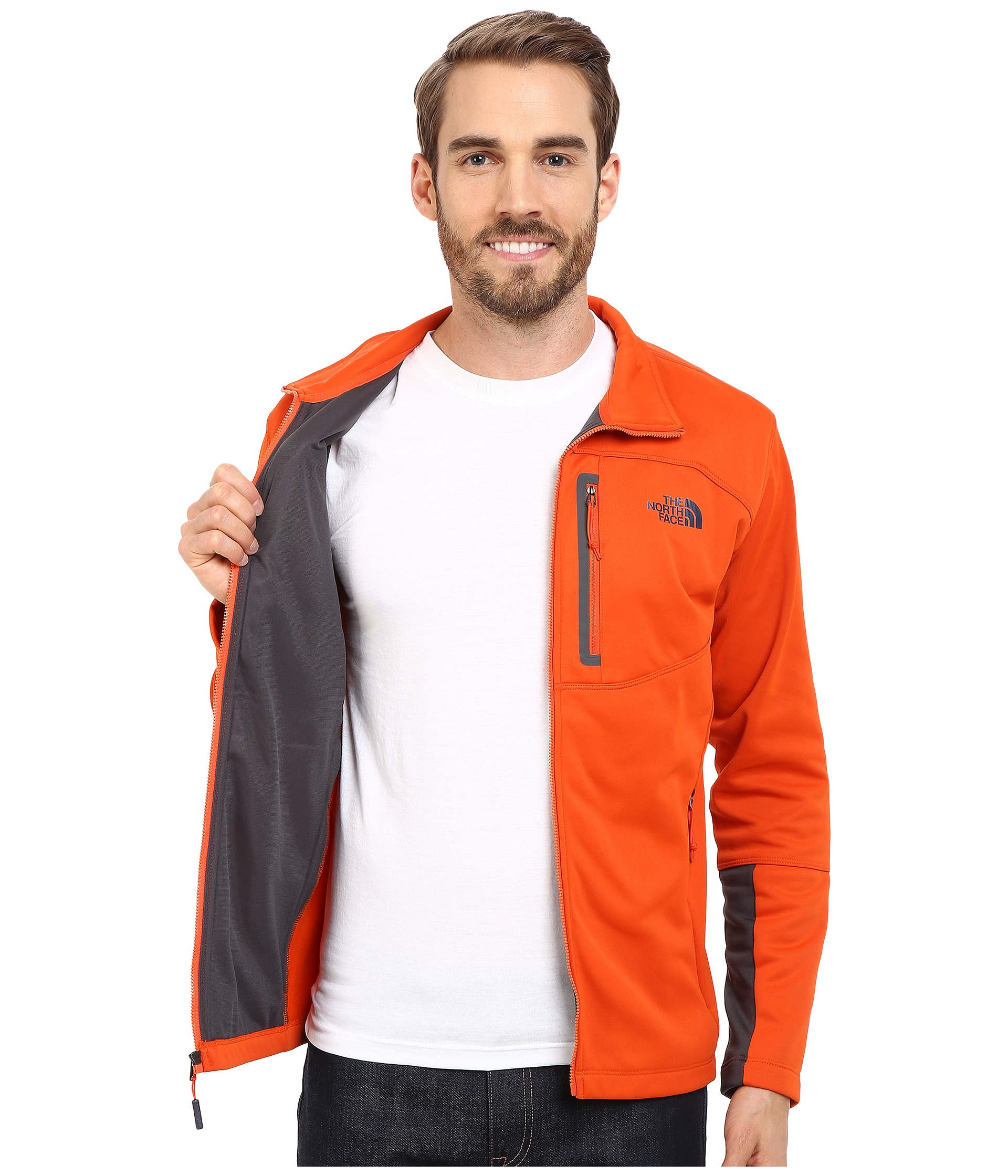 f0003cb6c Men's Orange Canyonlands Full Zip Sweatshirt