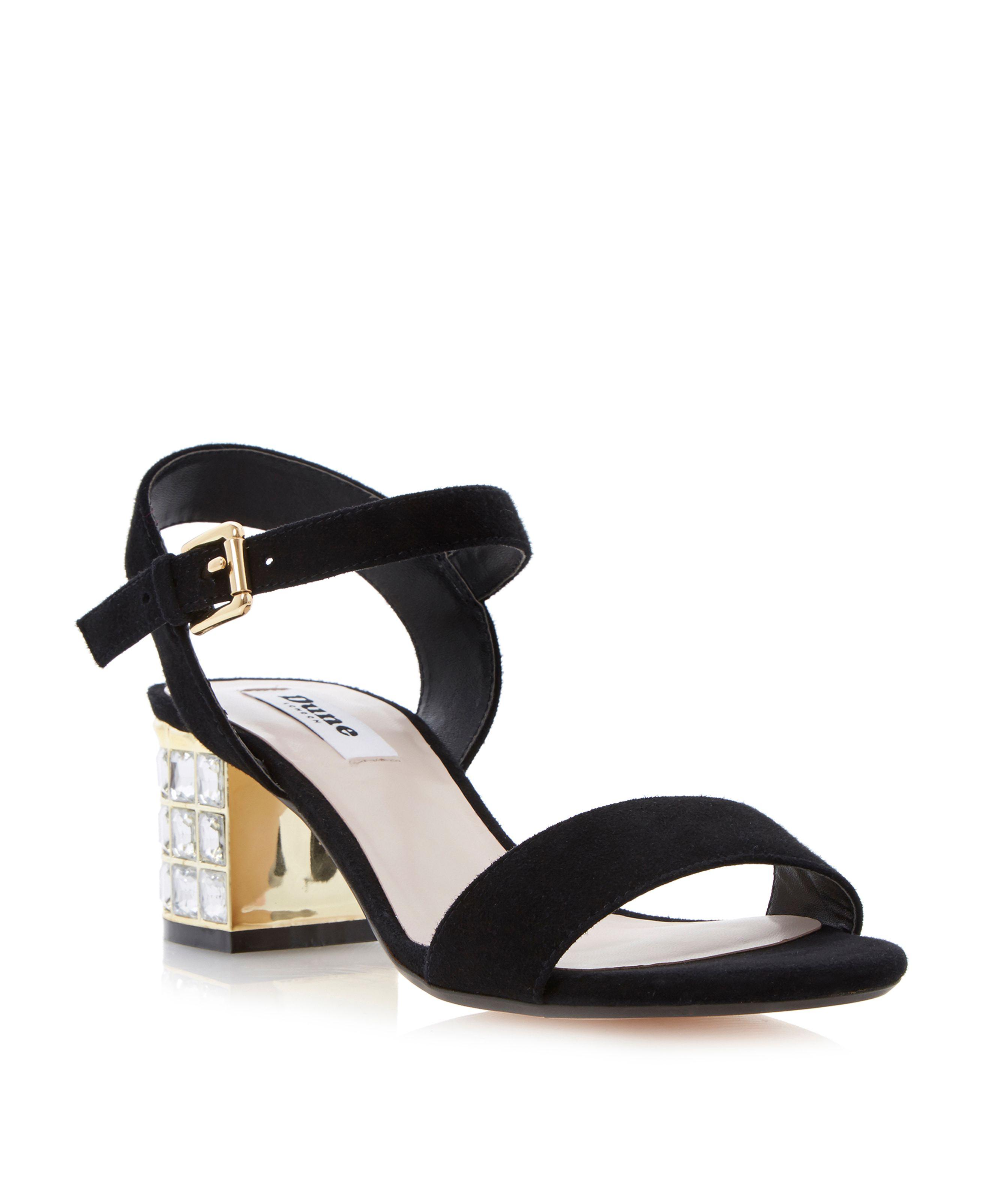 dune black sandals outlet 43799 caac2
