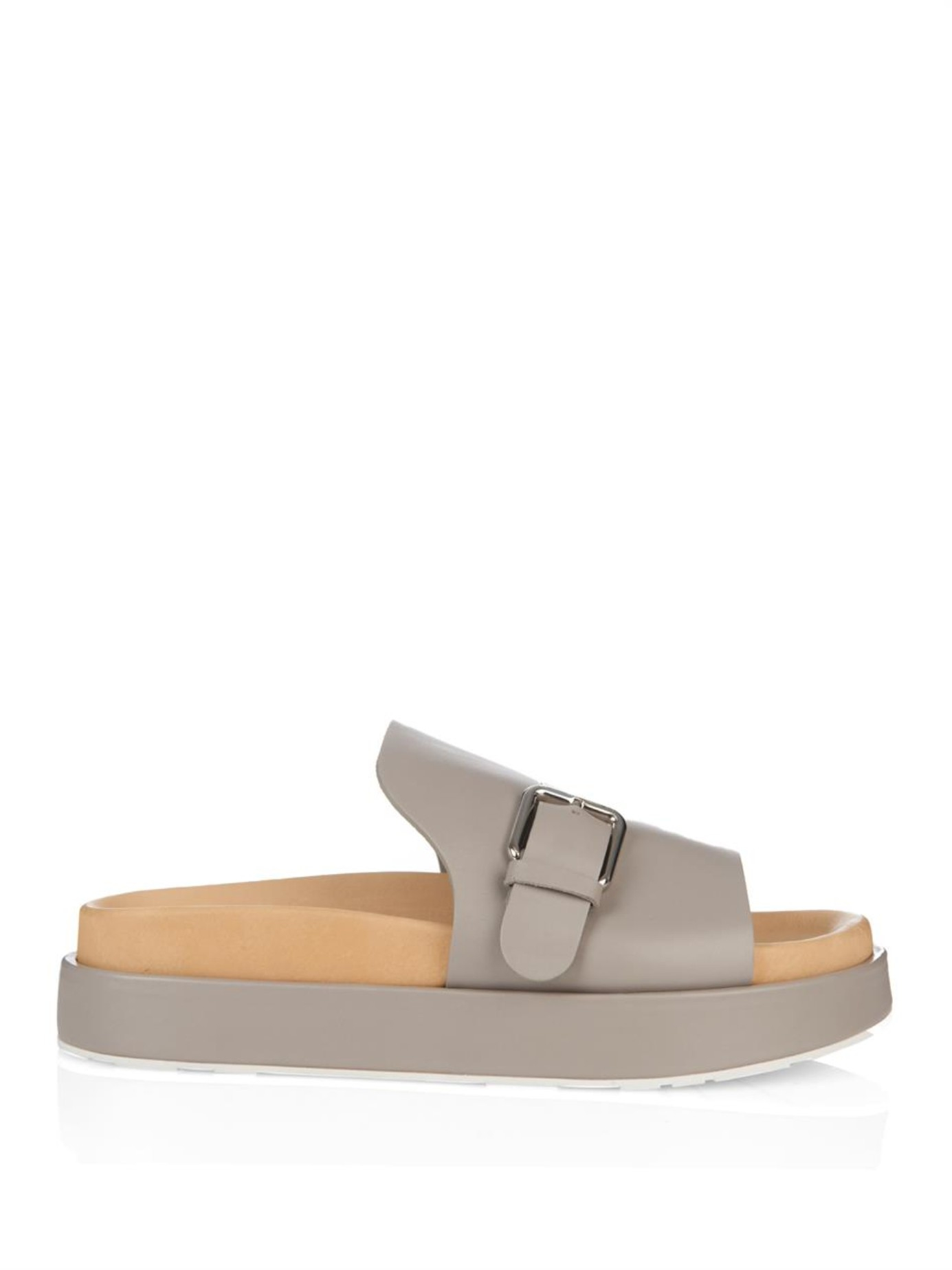 Jil Sander Leather Sandals Clearance Prices Sale Pictures Fast Delivery Sale Online Outlet Footlocker Pictures Outlet Locations Cheap Online Ei1Bc