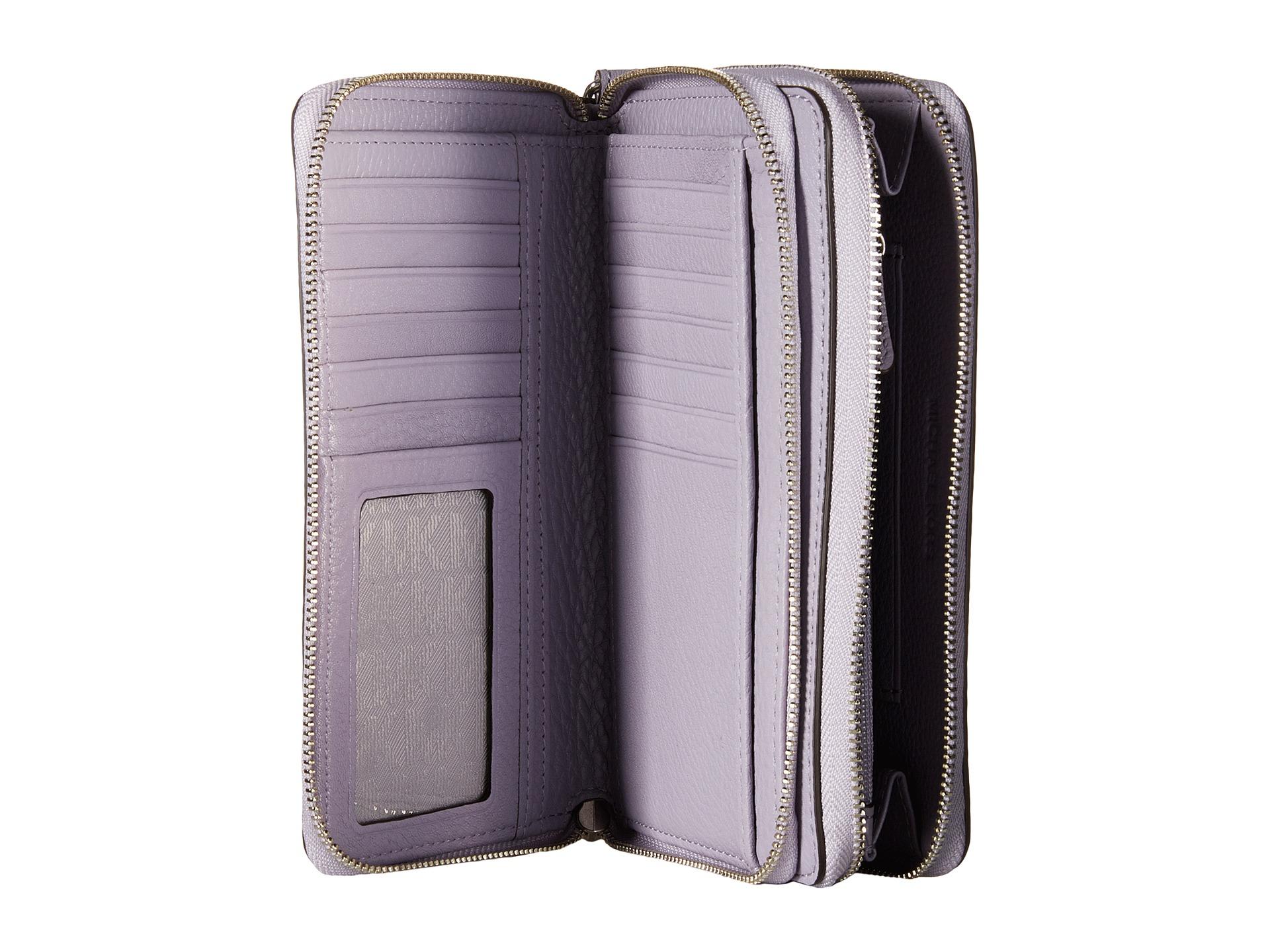 huge selection of 26365 4c21e MICHAEL Michael Kors Purple Adele Large Flat Multifunction Phone Case