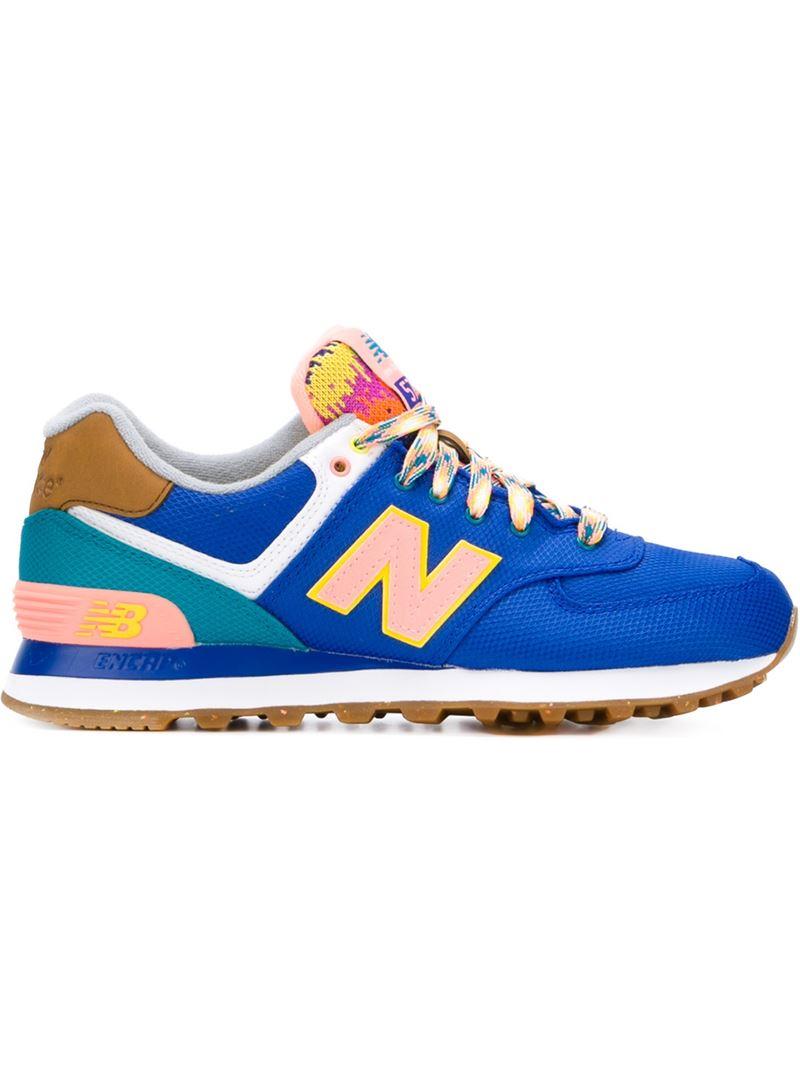 new balance 574 multicolor