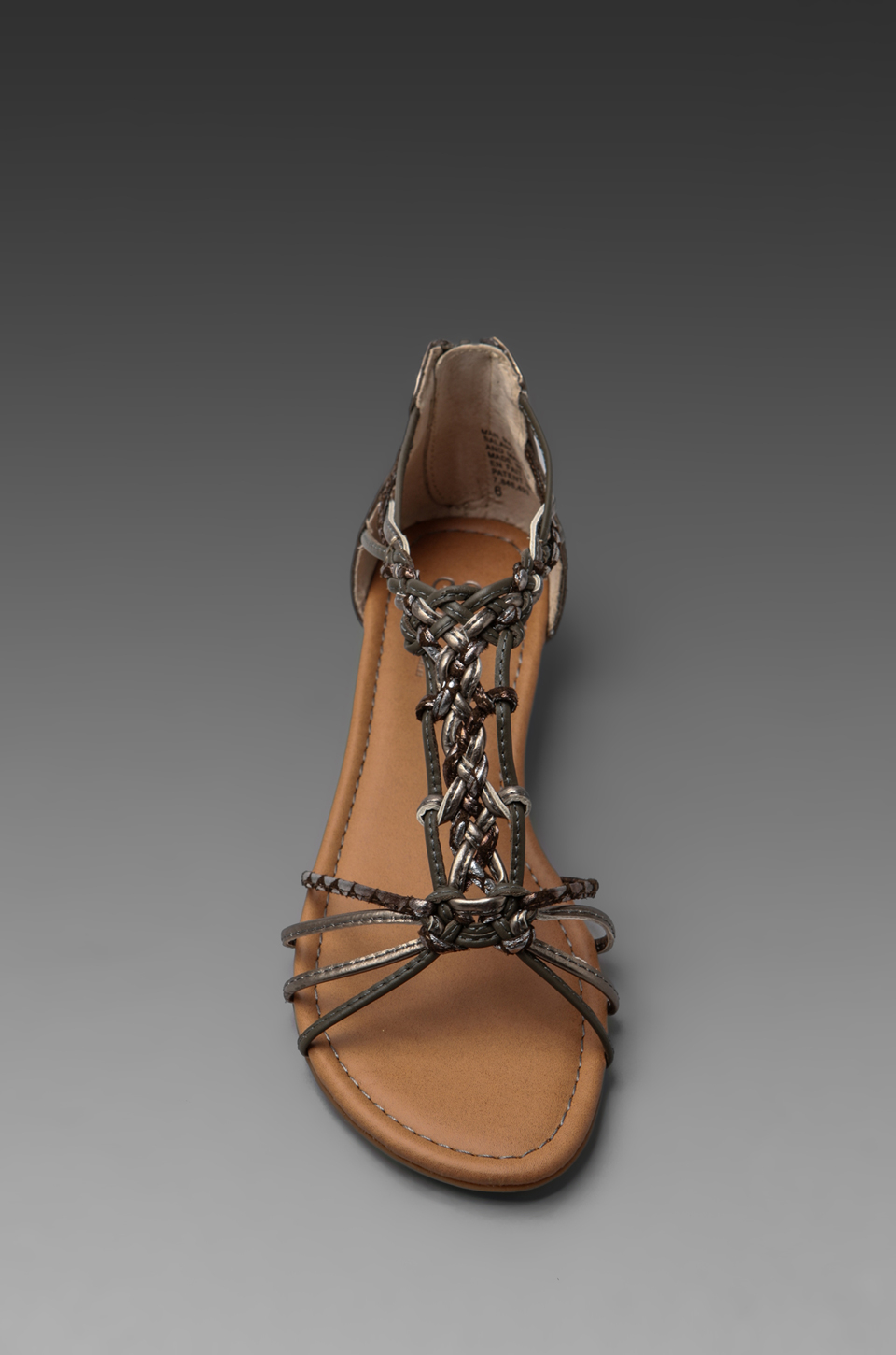 Seychelles Treat Yourself Sandal In Pewter In Pewter
