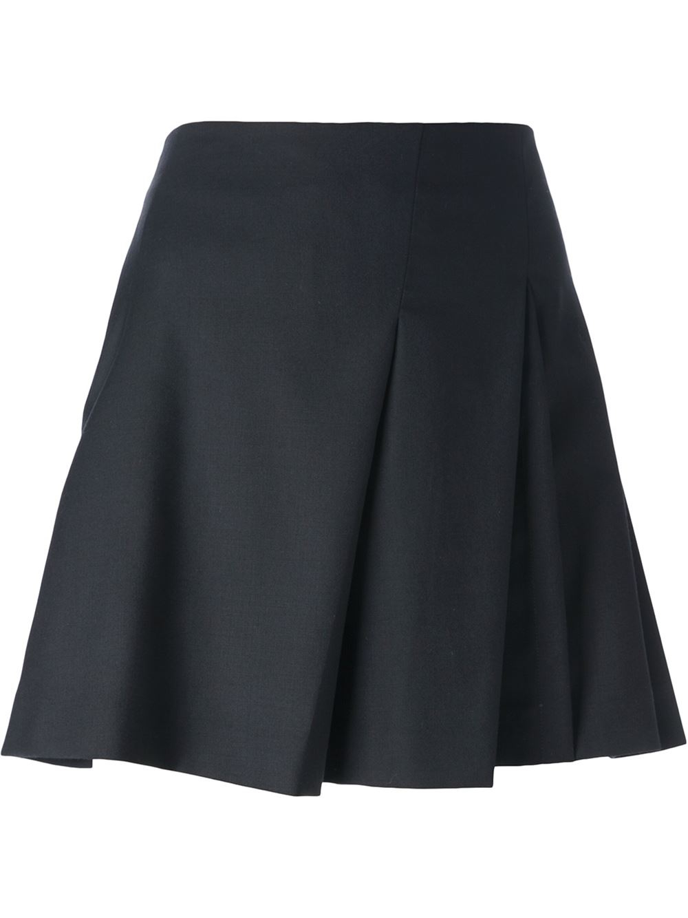 school pleated skirt in black lyst