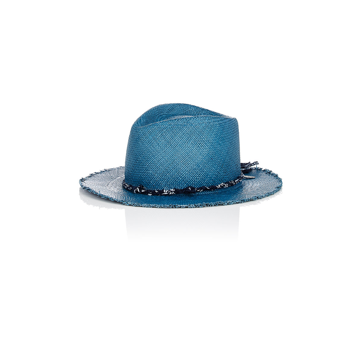 house of lafayette johnny panama hat in blue lyst